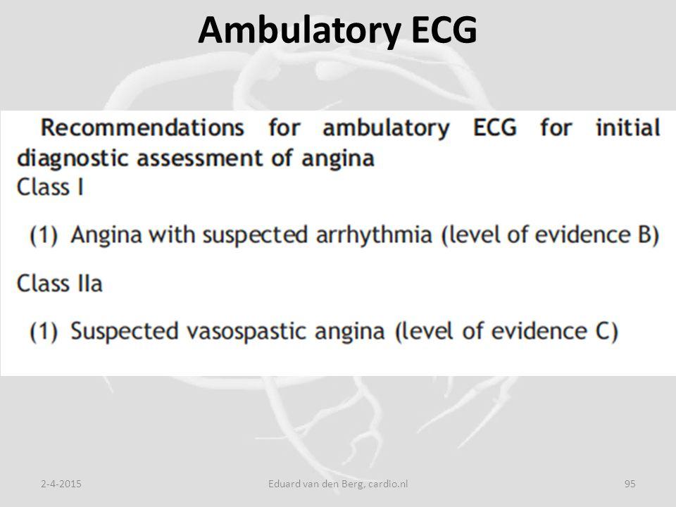 Ambulatory ECG 2-4-2015Eduard van den Berg, cardio.nl95
