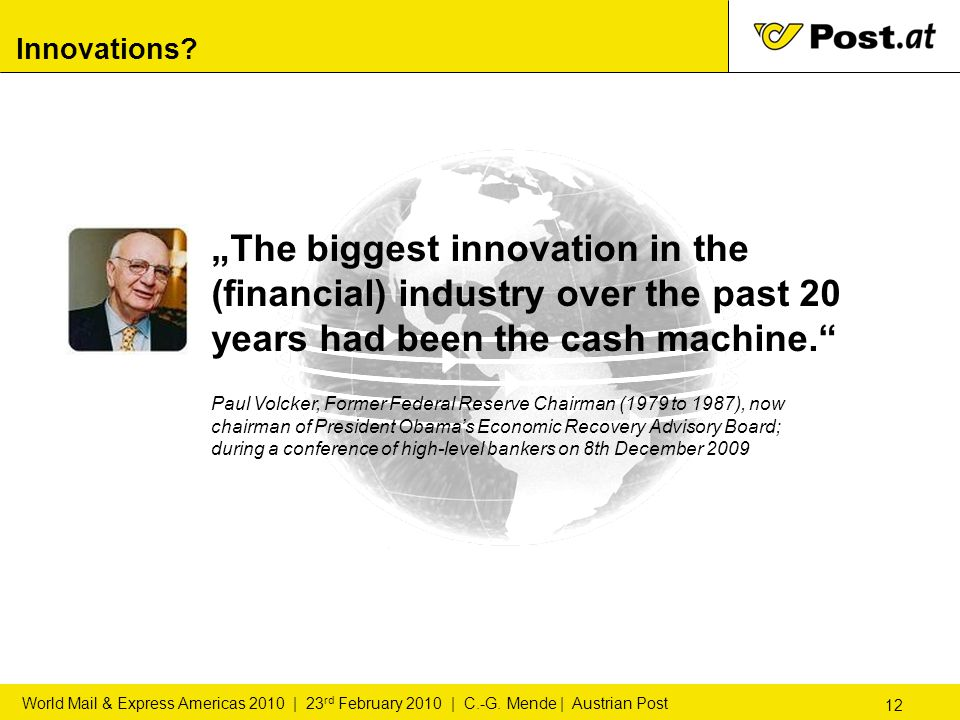 """12 World Mail & Express Americas 2010 