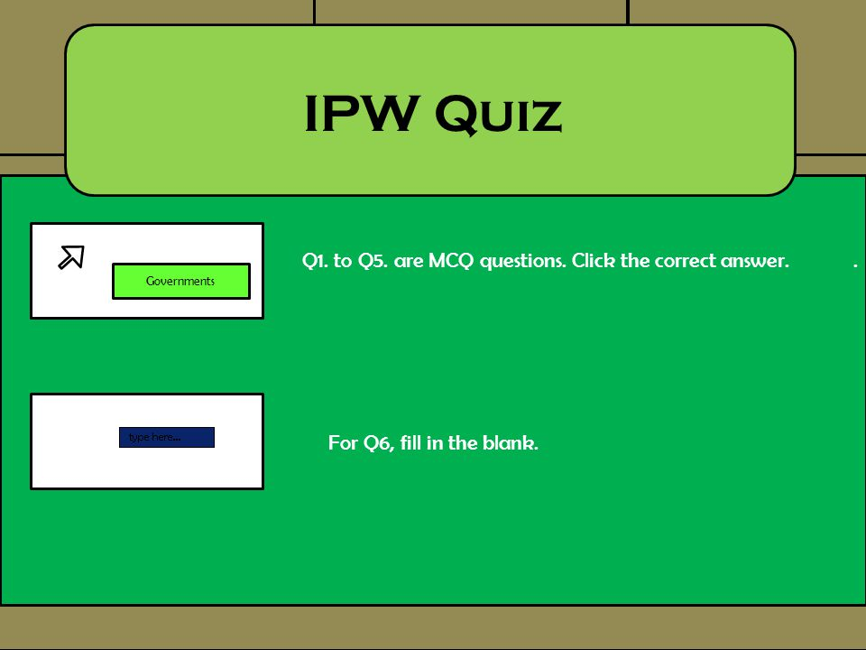 Who created National Service.IPW Quiz Q1.