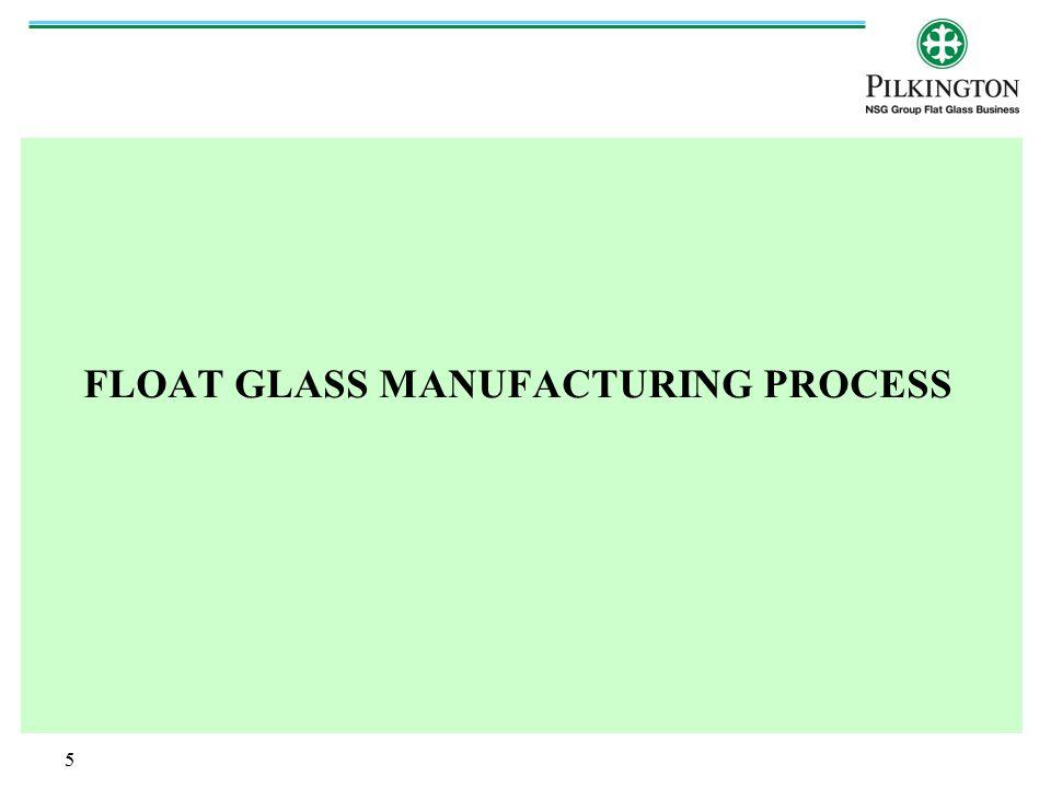 6 Glass Manufacturing: Raw Materials Silica Sand, Soda Ash, Felspar, Dolomite, Cullet