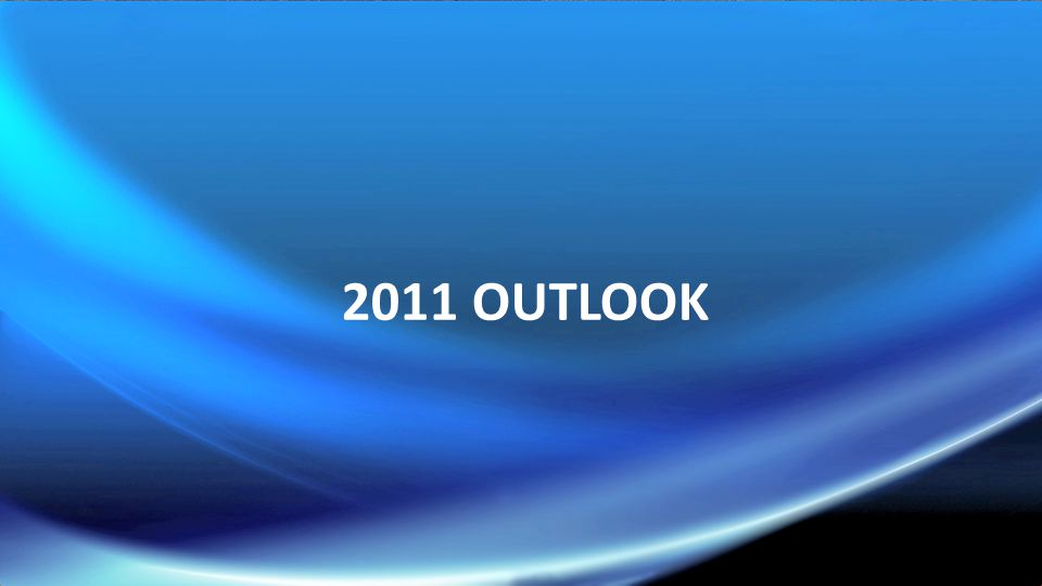 2011 OUTLOOK