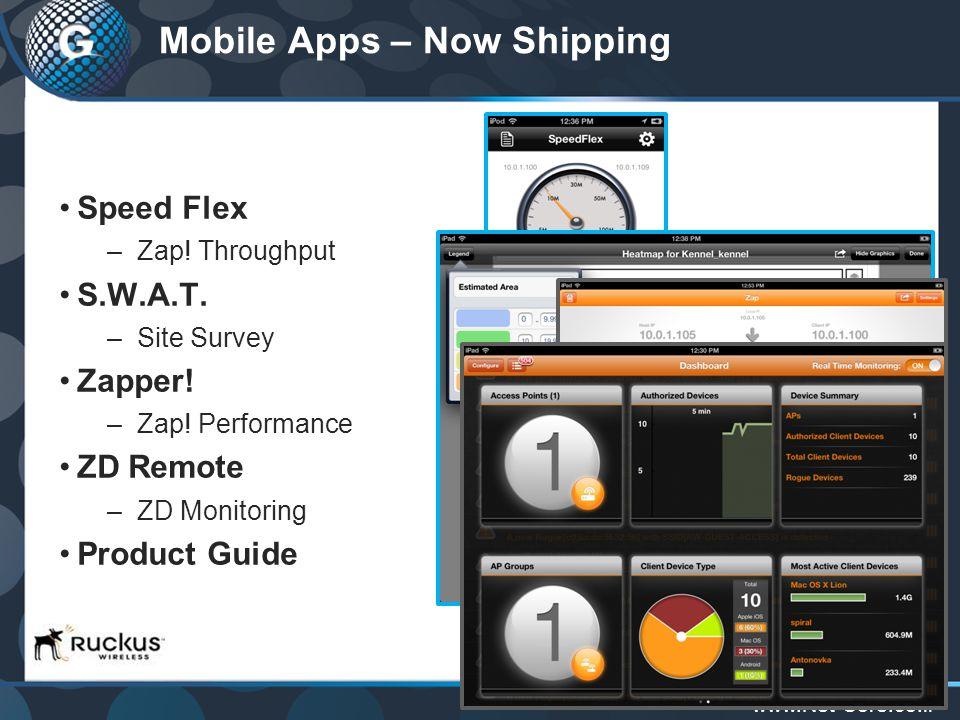 www.Net-Core.co.il Mobile Apps – Now Shipping Speed Flex –Zap.