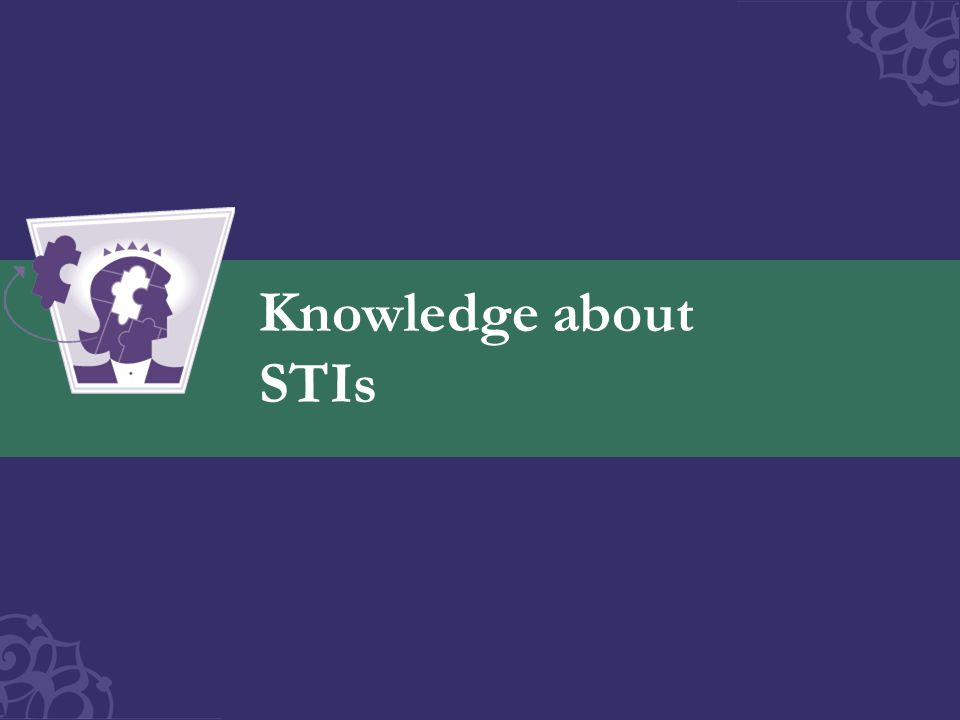 Knowledge about STIs