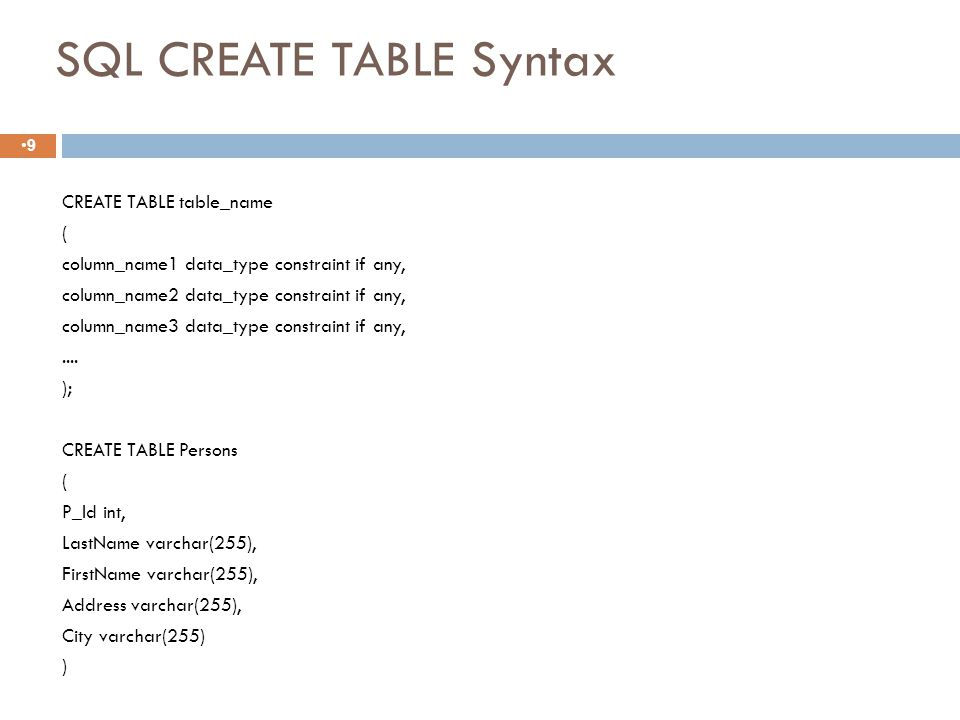 Specifying Updates in SQL Slide 8-69  There are three SQL commands to modify the database; INSERT, DELETE, and UPDATE