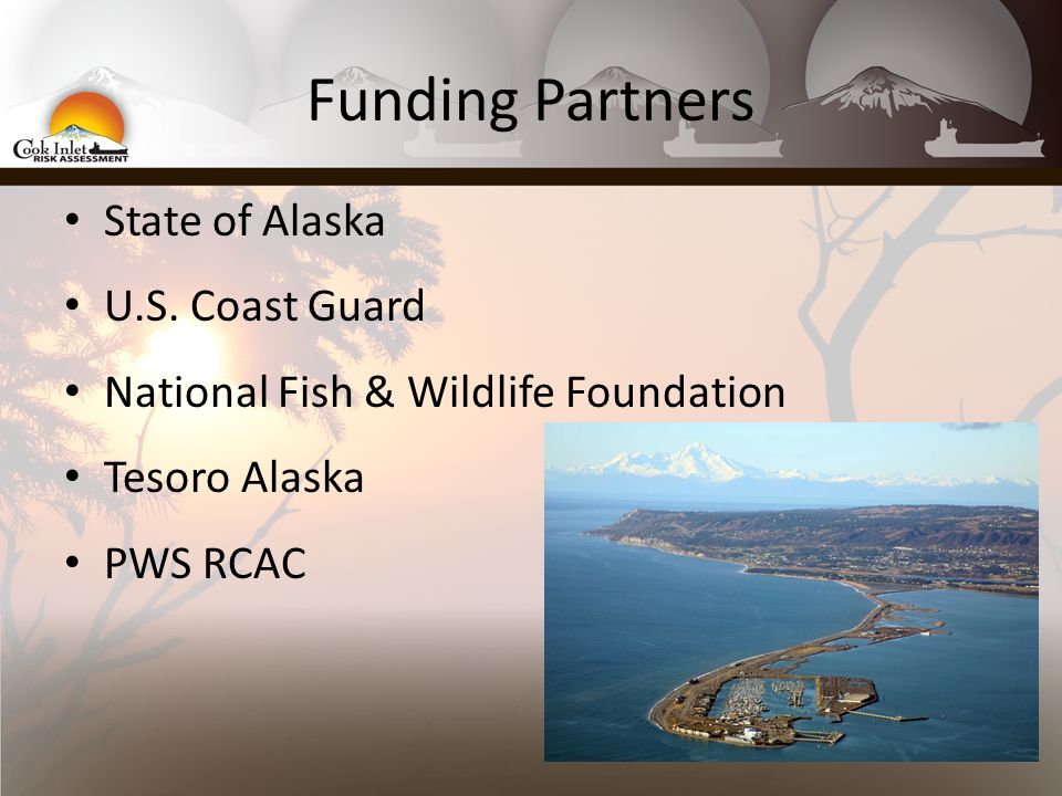 Funding Partners State of Alaska U.S.