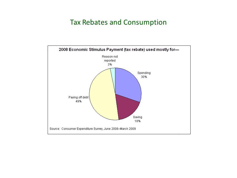 Tax Rebates and Consumption