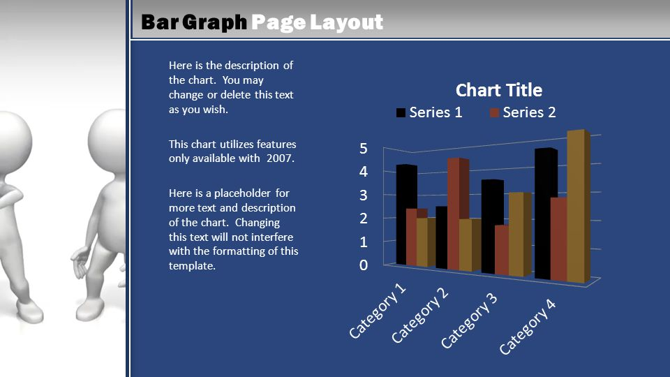 Bar Graph Page Layout Here is the description of the chart.