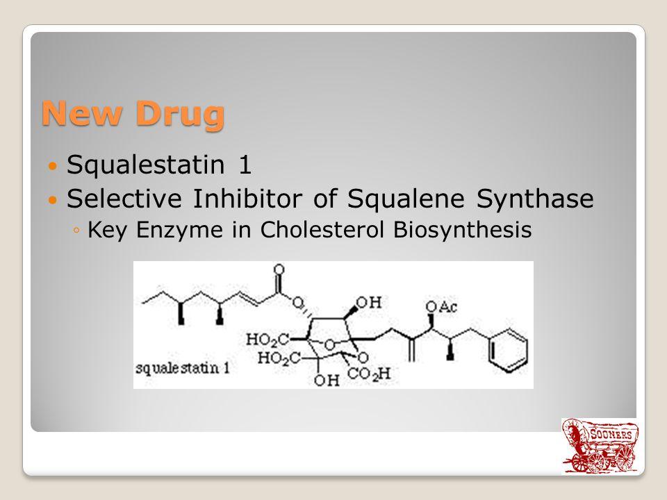 New Drug Squalestatin 1 Selective Inhibitor of Squalene Synthase ◦Key Enzyme in Cholesterol Biosynthesis