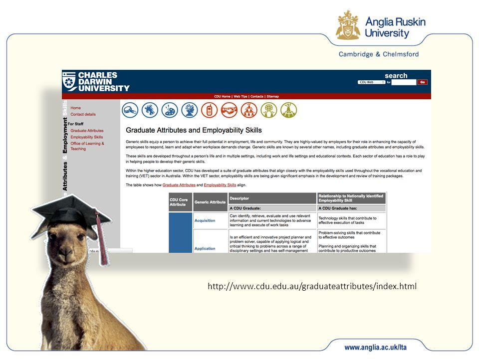 http://www.cdu.edu.au/graduateattributes/index.html