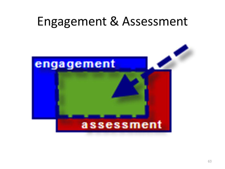 Engagement & Assessment 63