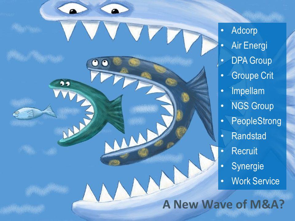 © 2014 Crain Communications Inc.A New Wave of M&A.
