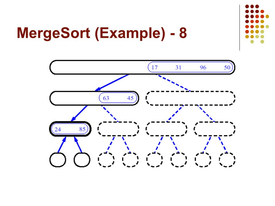 MergeSort (Example) - 8