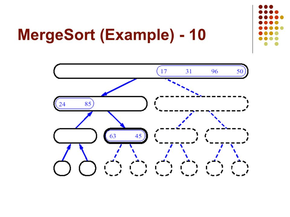 MergeSort (Example) - 10
