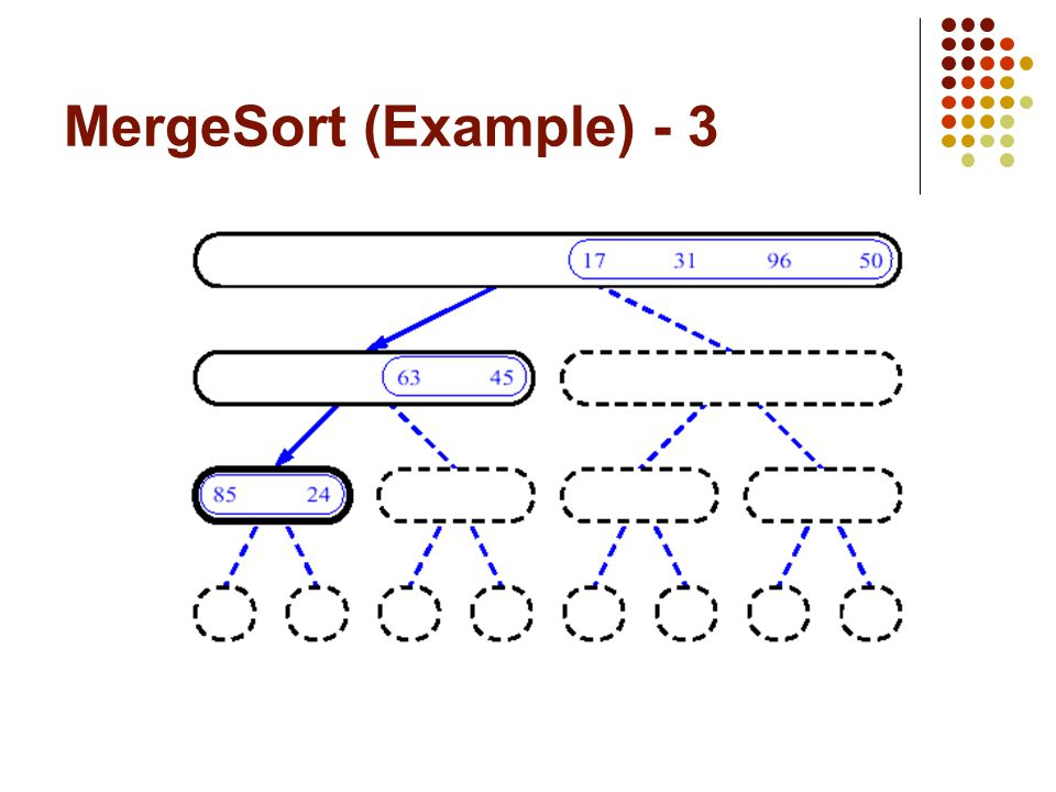 MergeSort (Example) - 3