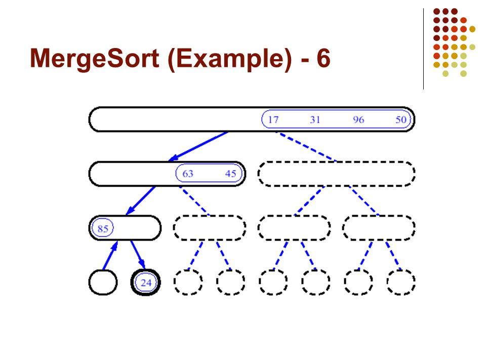 MergeSort (Example) - 6
