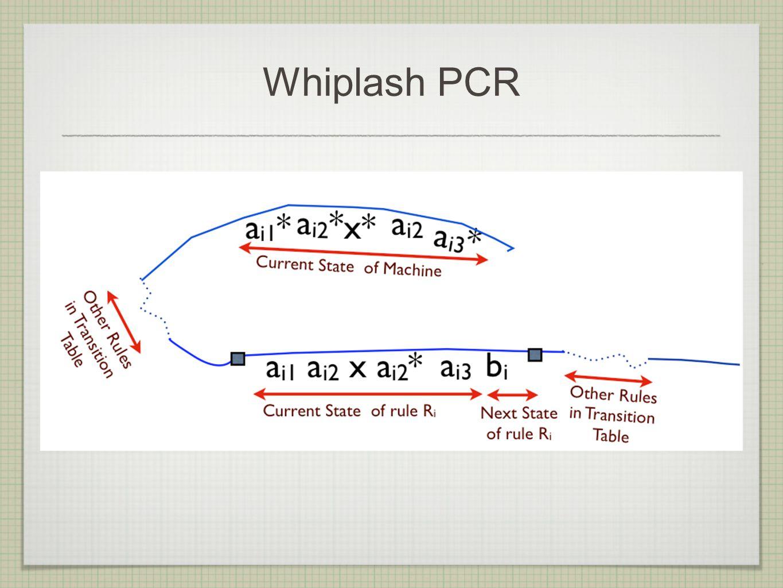 Whiplash PCR