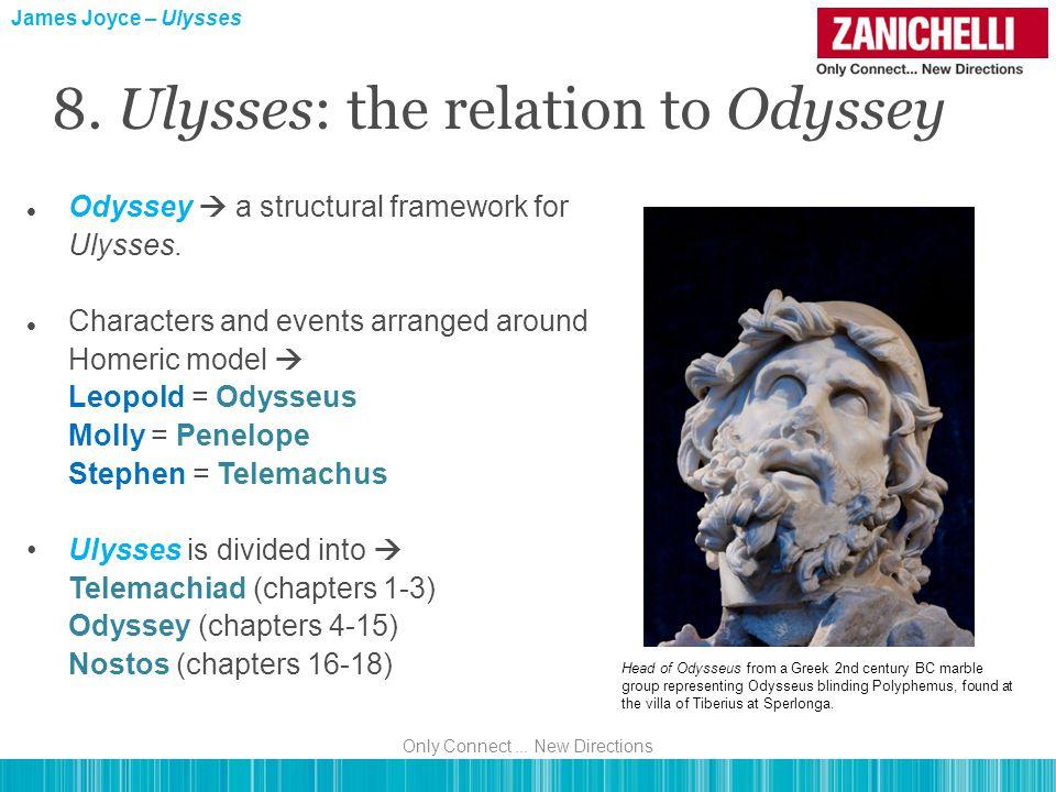 Odyssey  a structural framework for Ulysses.