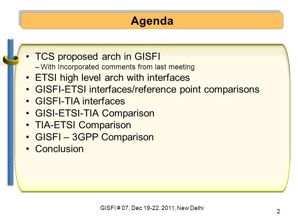 13 GISFI # 07, Dec 19-22, 2011, New Delhi