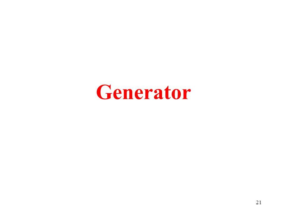 21 Generator