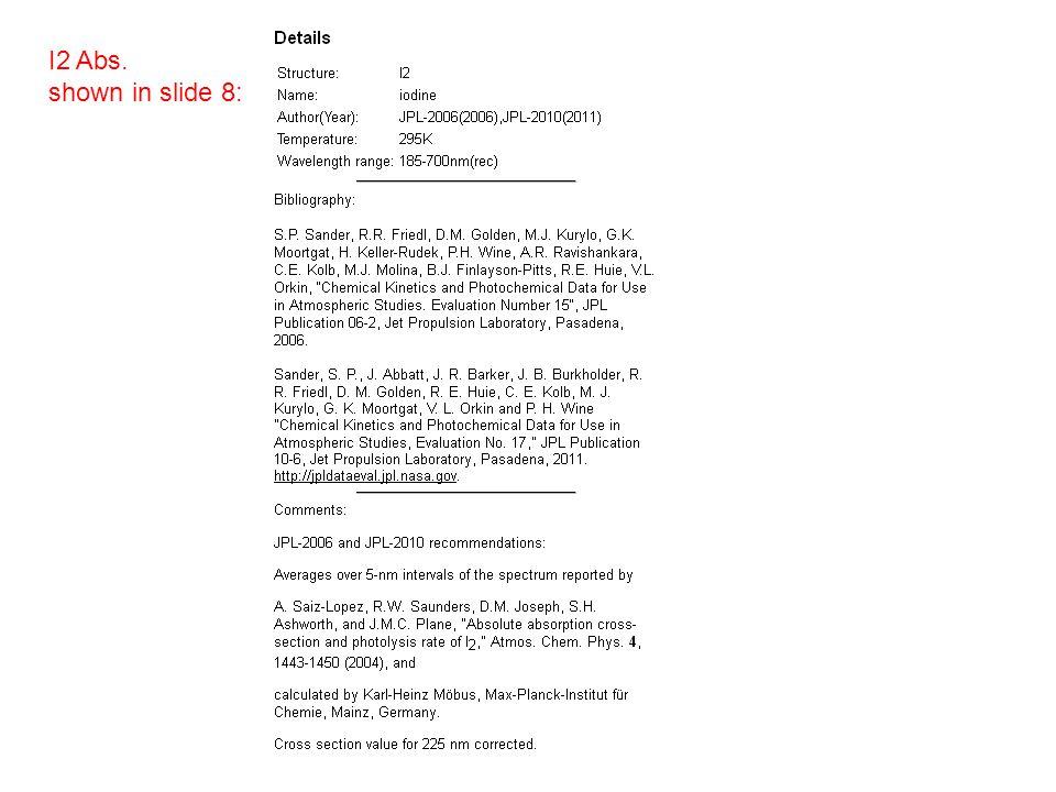 2hv = 53570.74 …………………………………… 54995.38 cm -1 https://notendur.hi.is/agust/rannsoknir/papers/jms163-541-94.pdf One- color I 2 REMPI 1hv The Dalby system 7 nm Bandwidth For 1hv(?) https://notendur.hi.is/agust/rannsoknir/Bergen/2012/CH3I&I2-limits.xls