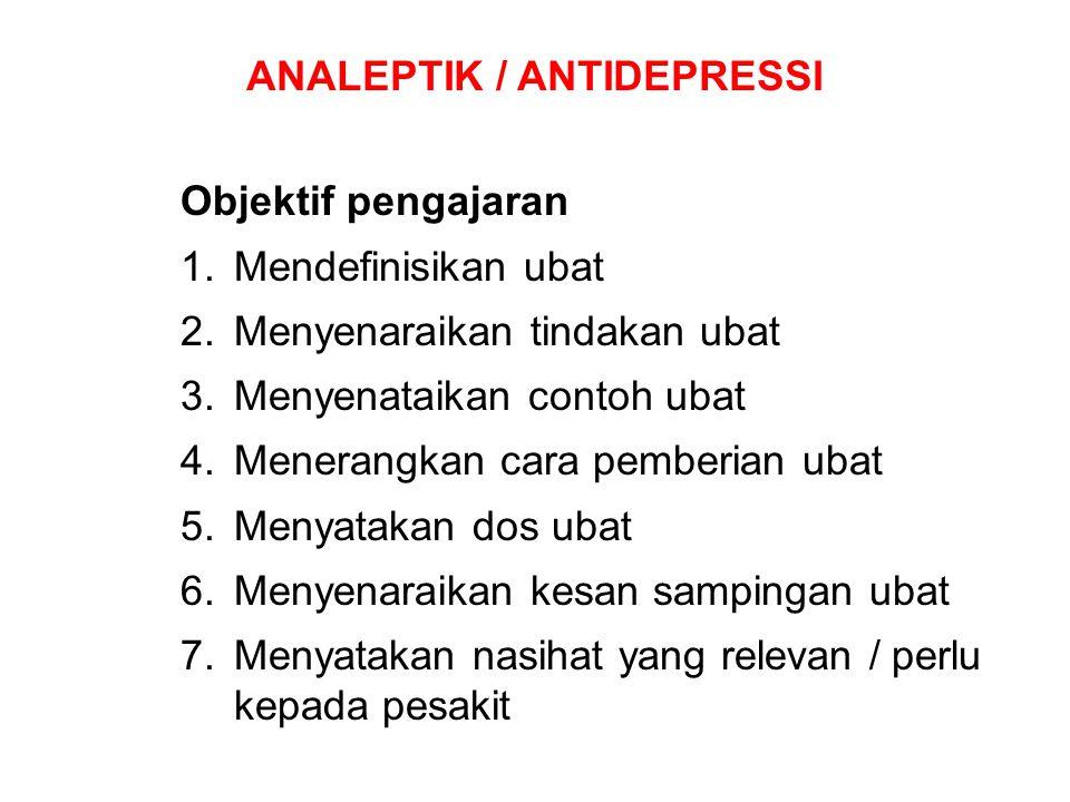 Objektif pengajaran 1.Mendefinisikan ubat 2.Menyenaraikan tindakan ubat 3.Menyenataikan contoh ubat 4.Menerangkan cara pemberian ubat 5.Menyatakan dos
