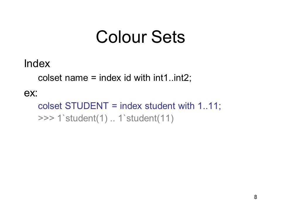 19 Control Structures if boolexp then exp1 else exp2 case exp of pat1 => exp1 pat2 => exp2 … patn => expn;