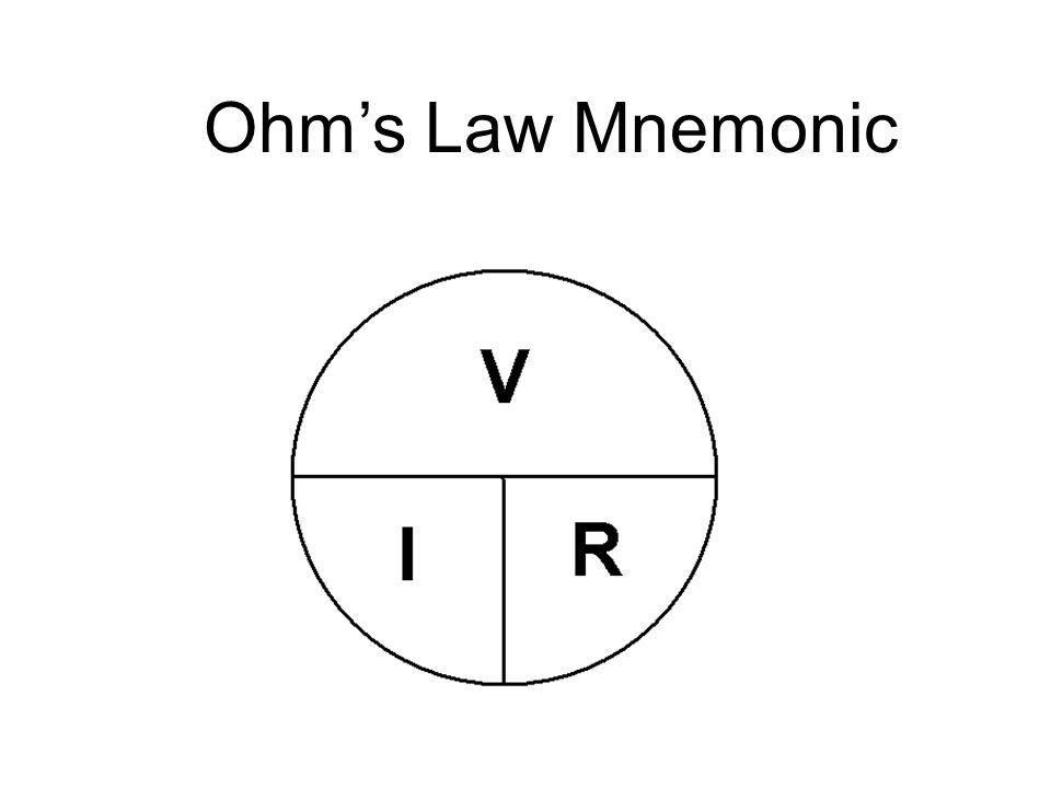 Ohm's Law Mnemonic