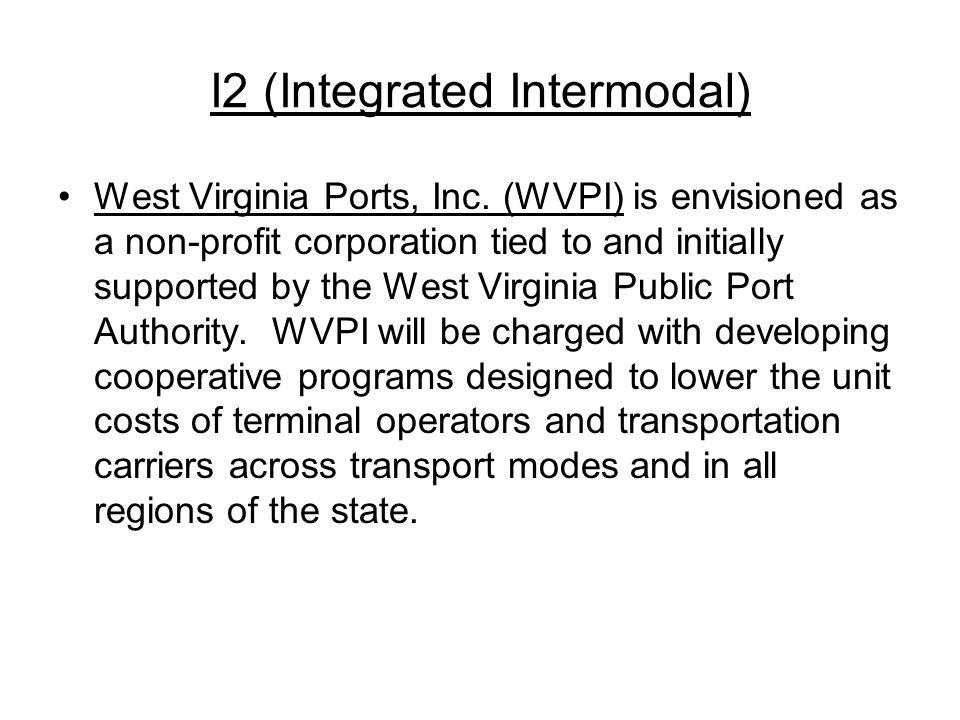 I2 (Integrated Intermodal) West Virginia Ports, Inc.