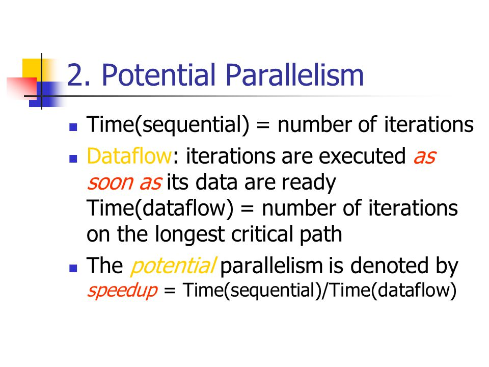 7.2 Exploit parallelism with UT
