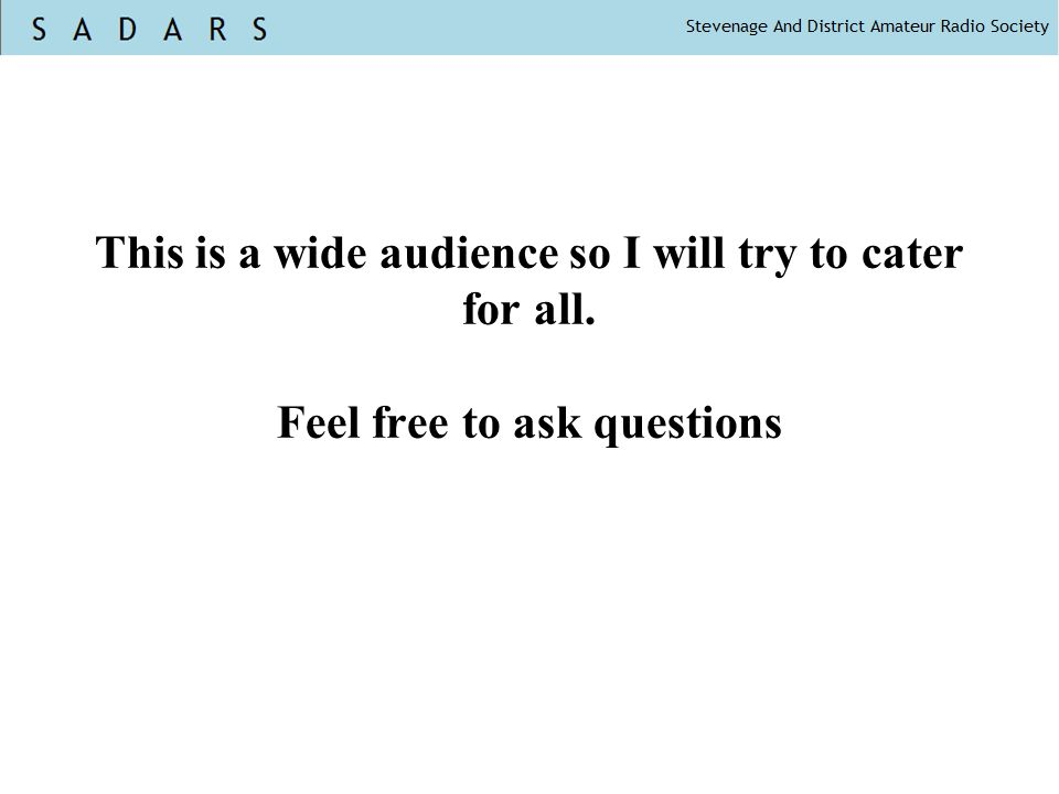 This is a wide audience so I will try to cater for all. Feel free to ask questions