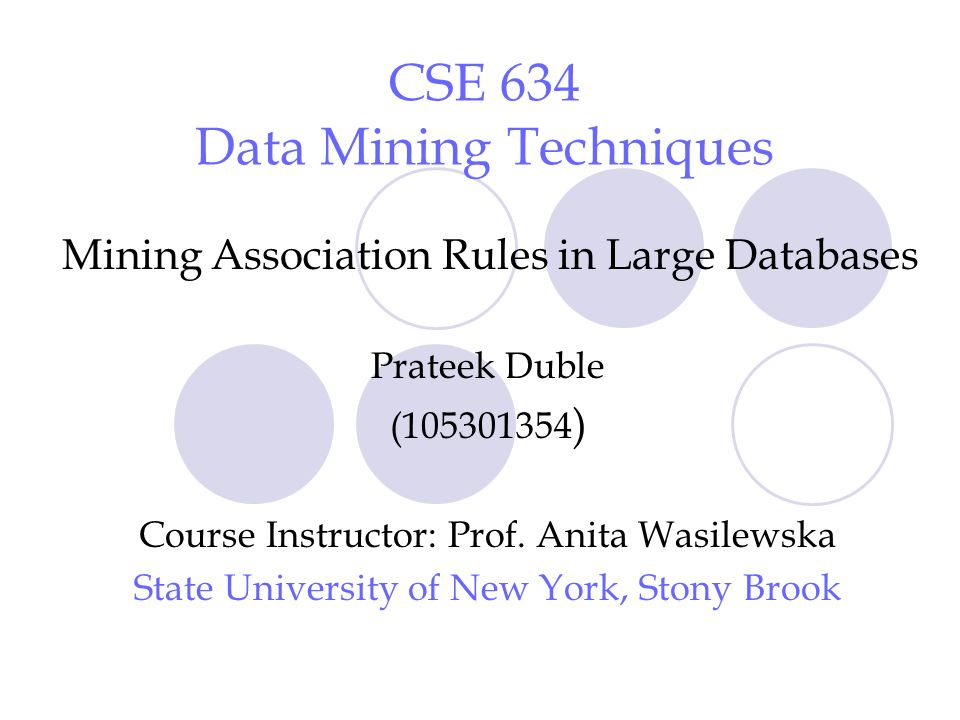 2 References Data Mining: Concepts & Techniques by Jiawei Han and Micheline Kamber Presentation Slides of Prof.