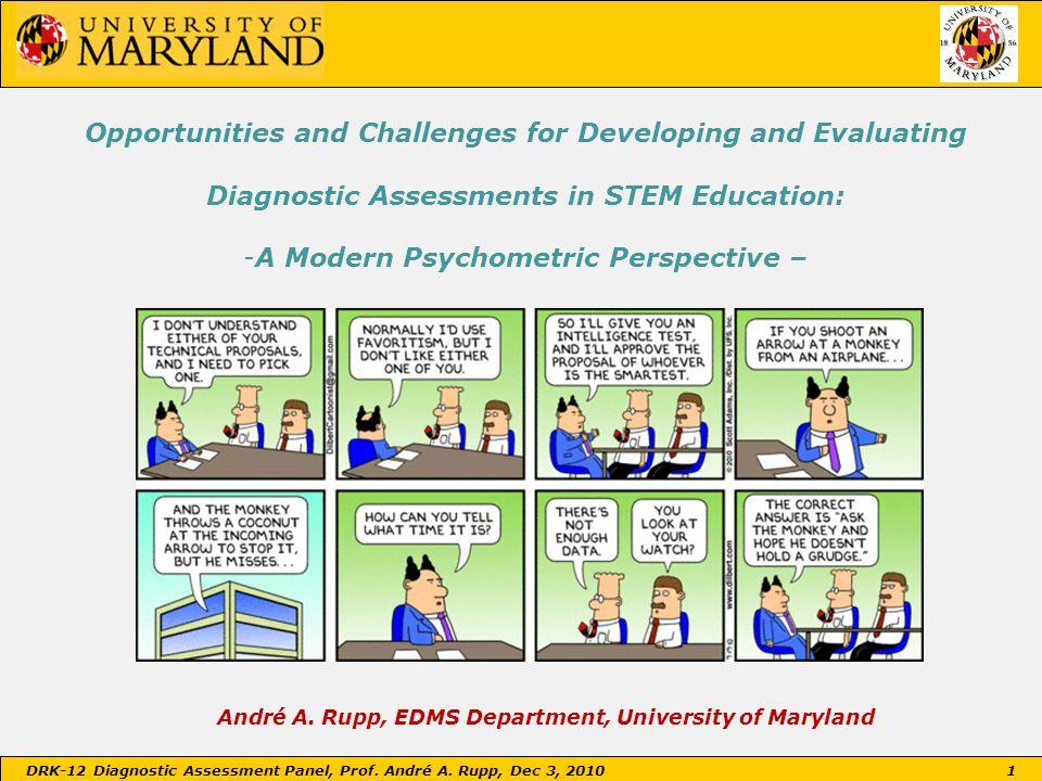 Evidence-based Reasoning for Modern Assessments
