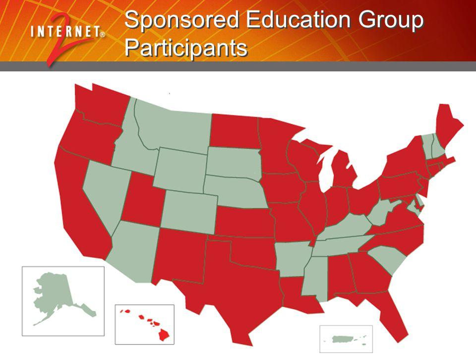 Sponsored Education Group Participants