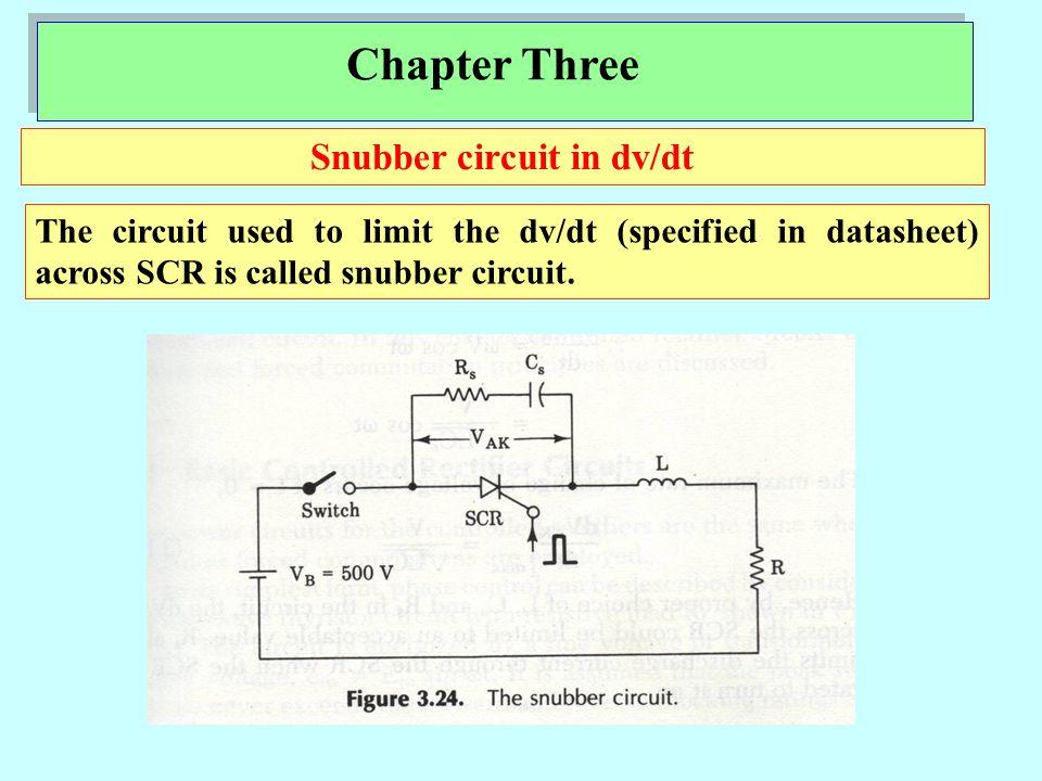 Chapter Three dv/dt calculation method1