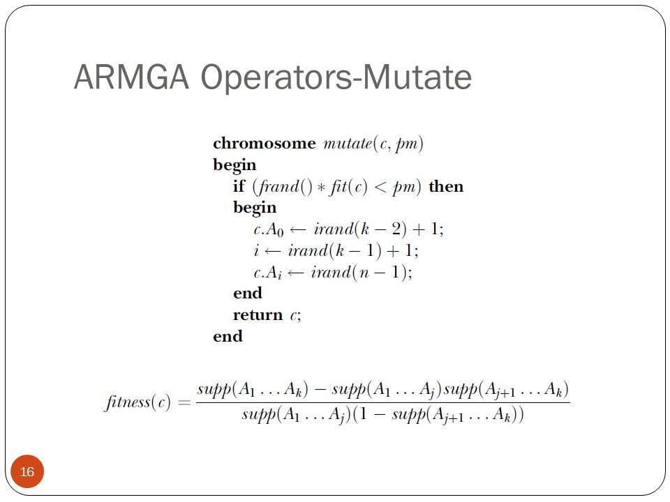 ARMGA Operators-Mutate 16