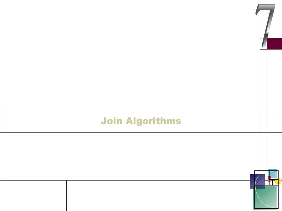 Join Algorithms