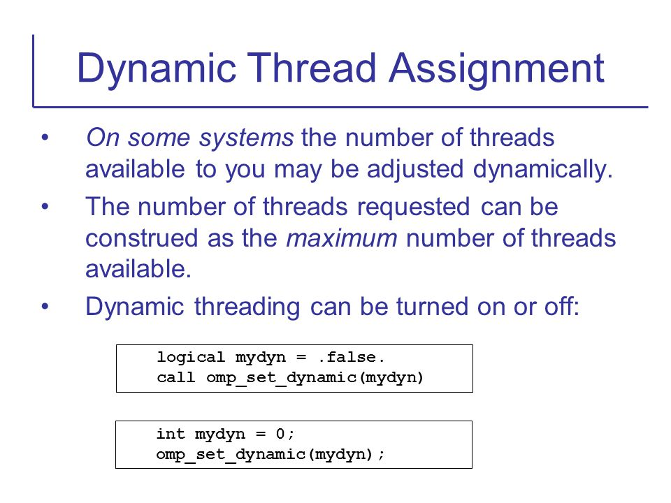 On some systems the number of threads available to you may be adjusted dynamically. The number of threads requested can be construed as the maximum nu