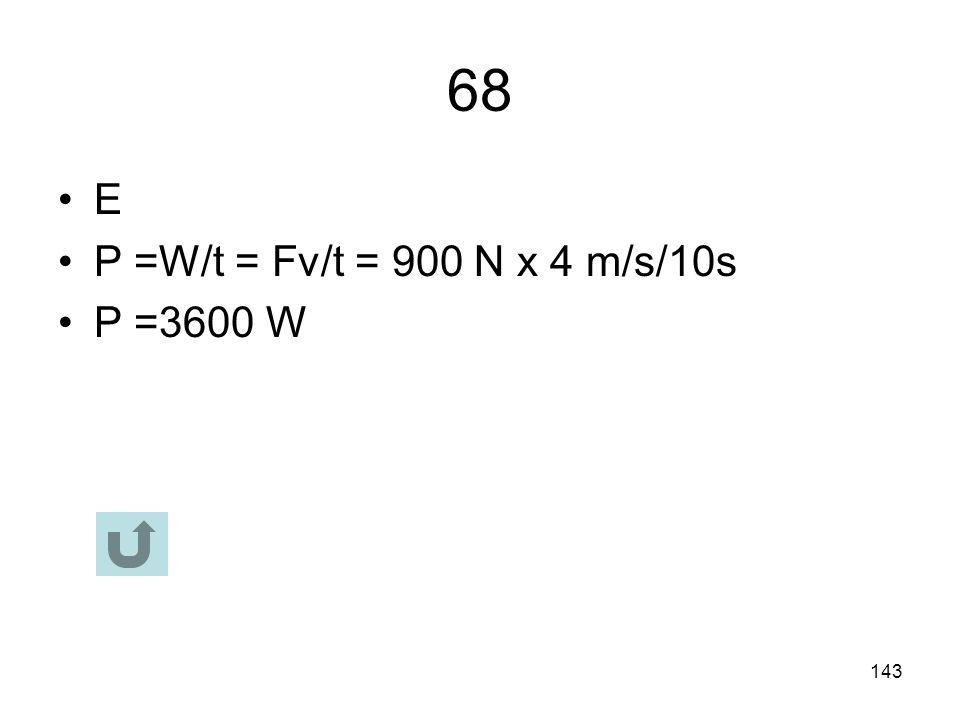 142 67 C F c = F g m satellite v 2 /R = G M Earth m satellite /R 2 R = GM/v 2