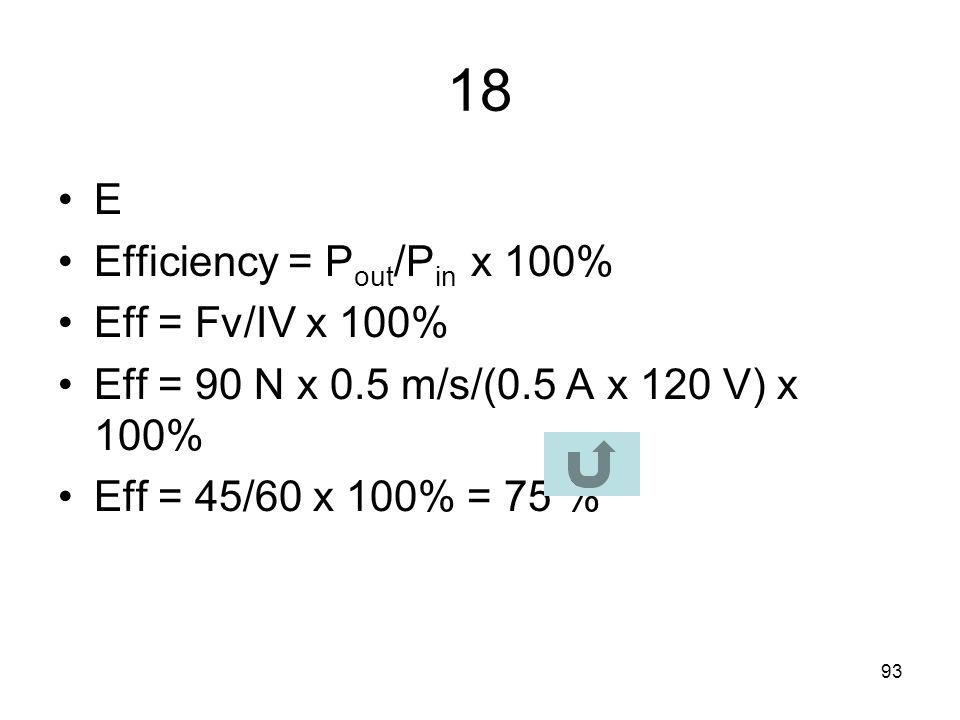 92 17 B R 1 =  L 1 /A 1 =  L 1 /  r 1 2 R 2 =  ½ L 1 /A 2 =  ½ L 1 /  (r 1 /2) 2 R 2 =  ½ L 1 /(  (r 1 /2) 2 ) =  ½ L 1 /(  (r 1 2 /4)) R 2