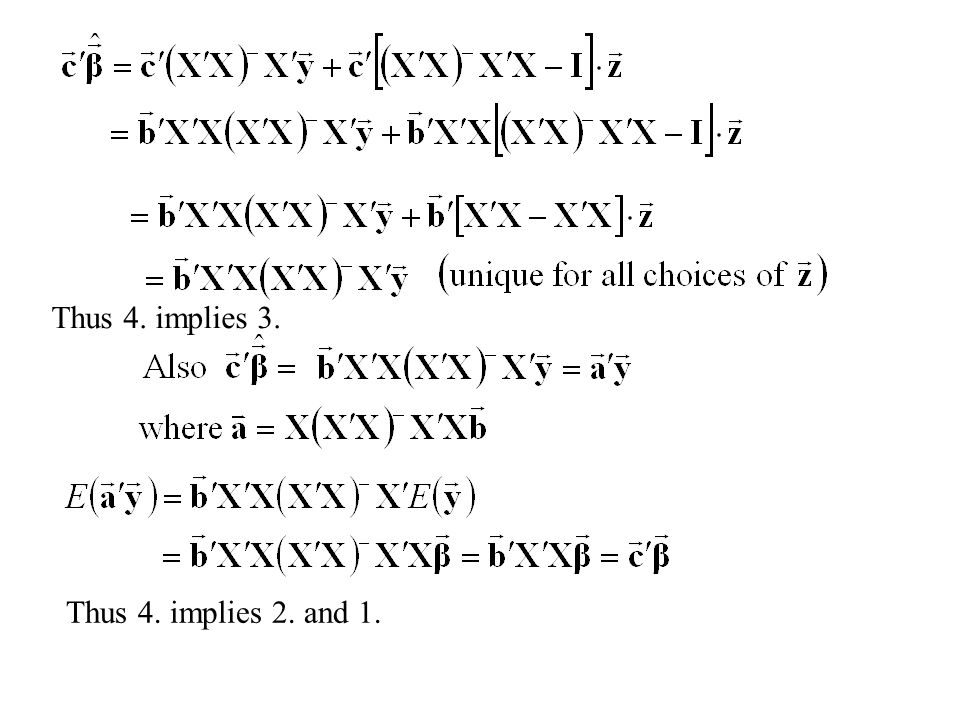 Thus 4. implies 3. Thus 4. implies 2. and 1.
