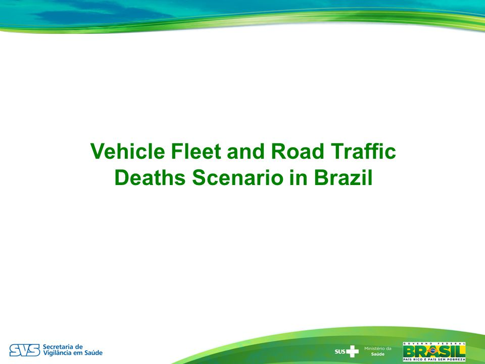 Vehicle Fleet and Road Traffic Deaths Scenario in Brazil