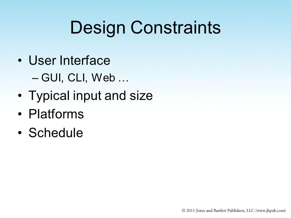 Design Decisions Programming Languages Algorithms