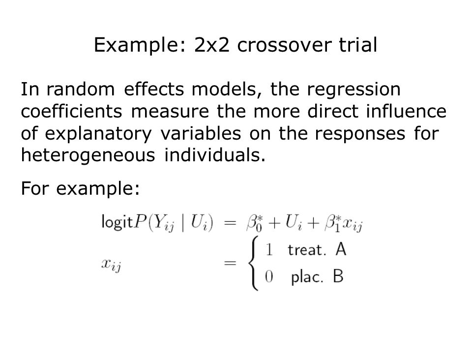Poisson-Gaussian Random Effects Models: Epileptic Seizure Results The estimate of G 22 is statistically significant, therefore the data give support for between-subject variability in the ratio of the expected seizure counts before and after randomization.