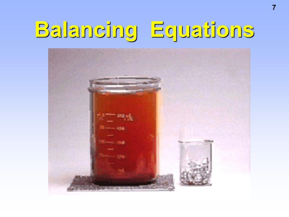 38 2 Al + 3 Cl 2 products 0.200 mol 0.114 mol = LR Calculating Excess Al Excess Al = Al available - Al required = 0.200 mol - 0.0760 mol = 0.124 mol Al in excess 0.114 mol Cl 2 2 mol Al 3 mol Cl 2 = 0.0760 mol Al req 0.0760 mol Al req d