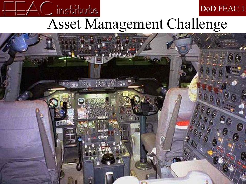 DoD FEAC 1 www.feacinstitute.org 202-546-7927 Asset Management Challenge