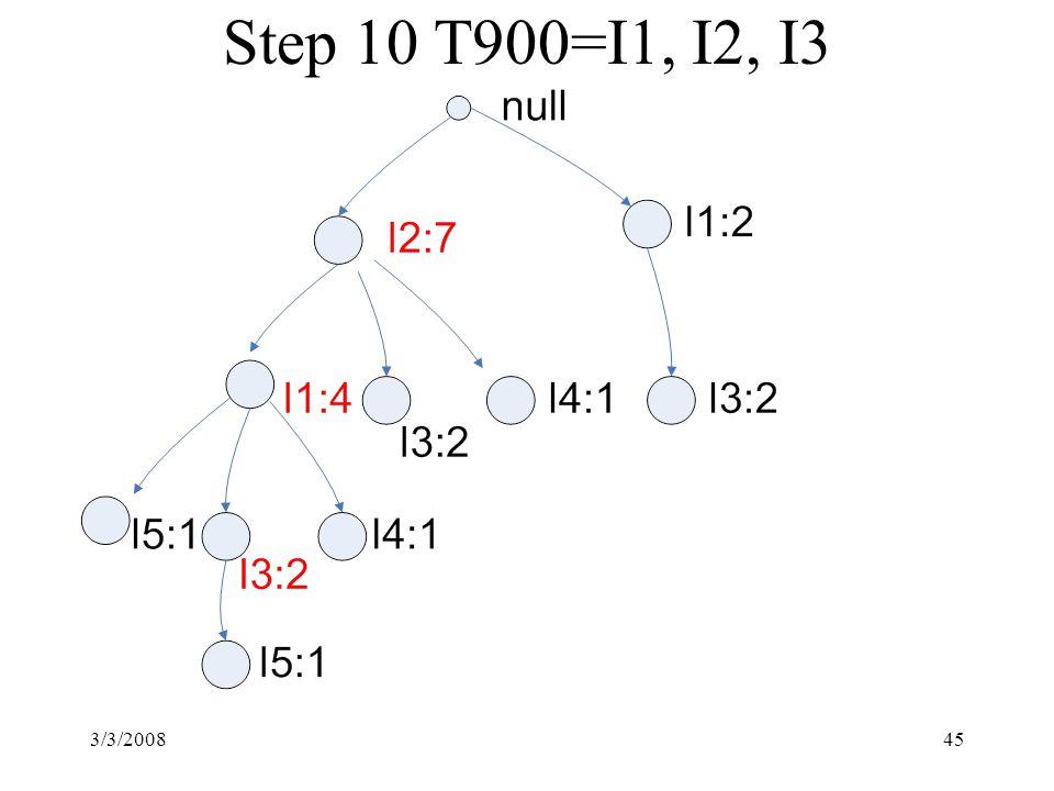 3/3/200845 Step 10 T900=I1, I2, I3