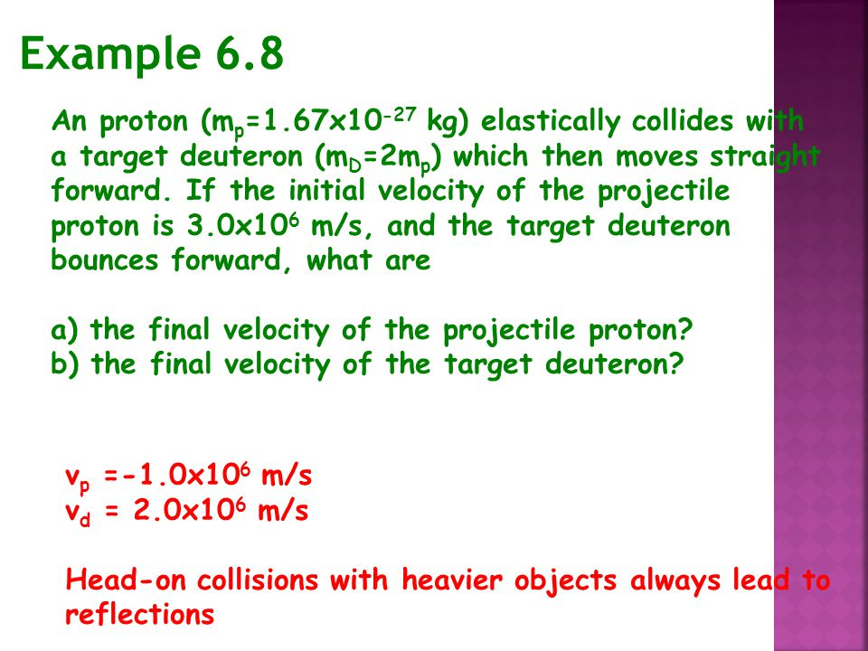 Final equations for head-on elastic collision: Relative velocity changes sign Equivalent to Conservation of Energy