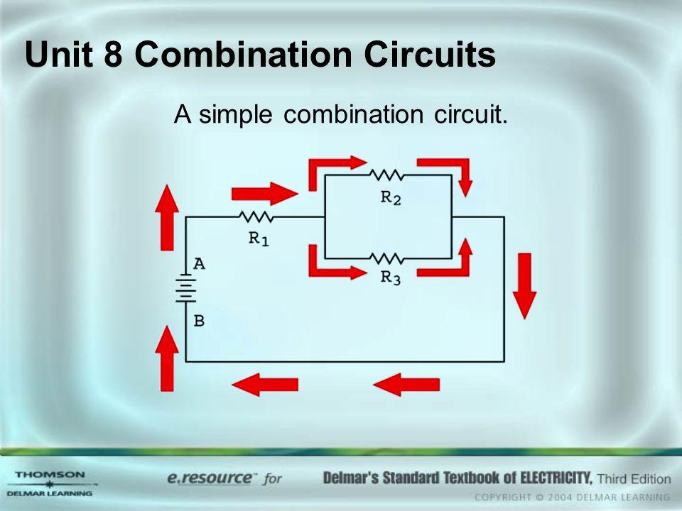 Unit 8 Combination Circuits A simple combination circuit.