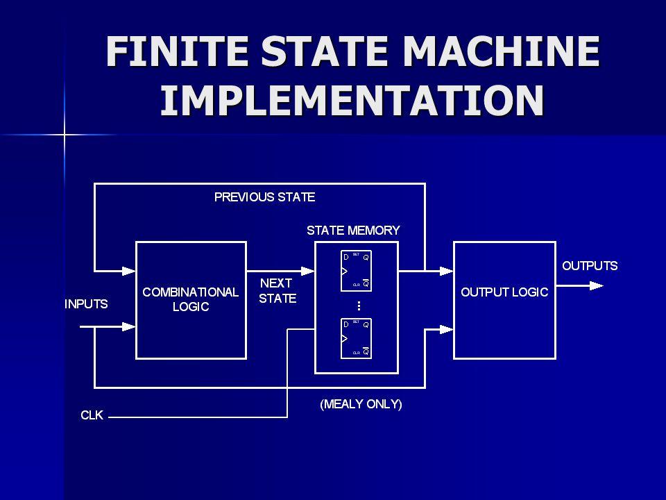 FINITE STATE MACHINE IMPLEMENTATION