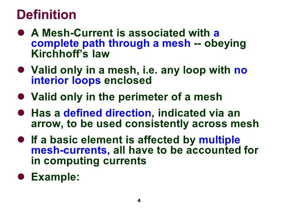 15 Example 4.4 via Mesh-Current (1)2*ia + 8*(ia - ib) - 40=0 (2)6*ib + 6*(ib - ic) + 8*(ib - ia)=0 (3)4*ic + 20 + 6*(ic - ib)=0...